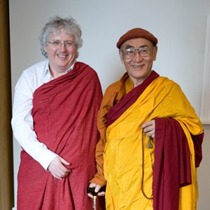 Lama Jampa and Rinpoche