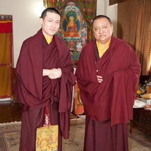 HH Karmapa and HE Shamar Rinpoche